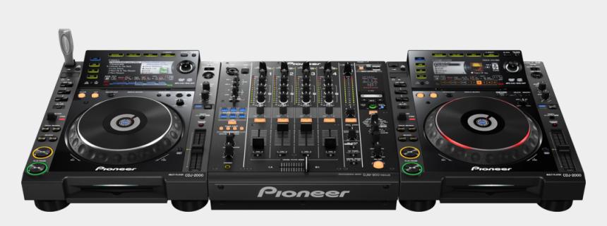 dj mixer clipart, Cartoons - Dj Set Cd Player Mixer - Pioneer Dj Mixer Price