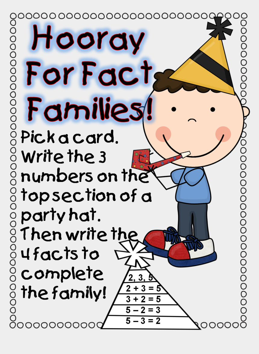 fact family clipart, Cartoons - For Your Free Printable 2014 Unit, Celebrate And Click - Kit Heath Kids