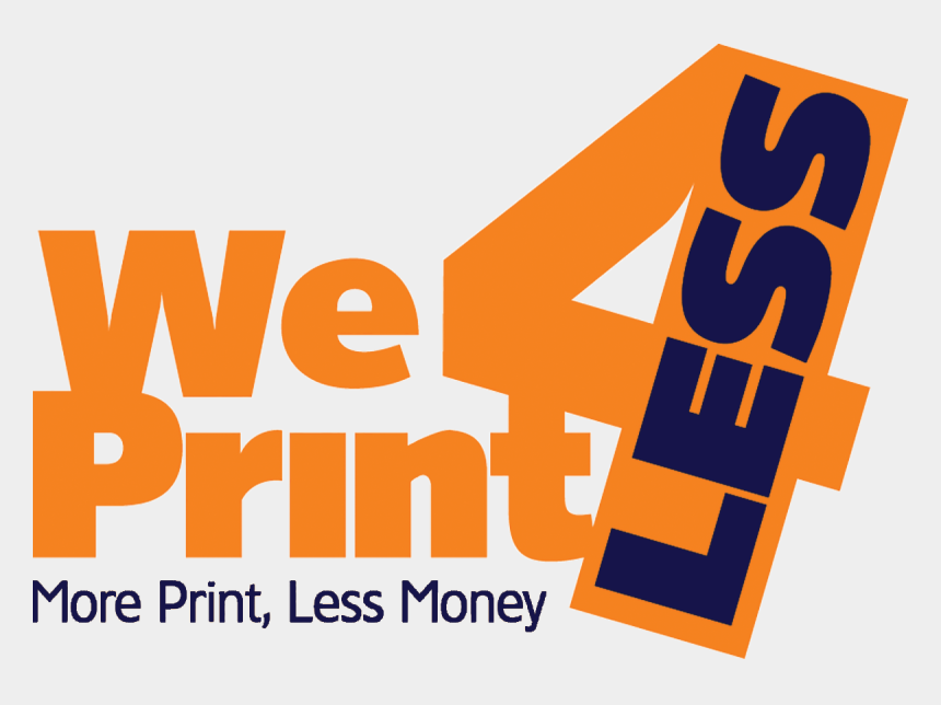 less clipart, Cartoons - Number 4 Clipart Print - Graphic Design