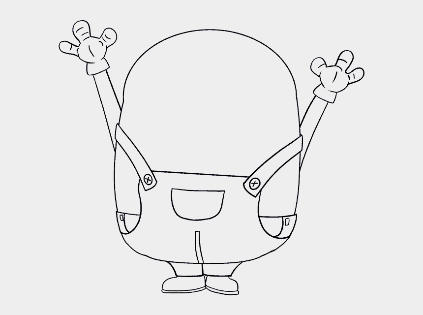 step by step clipart, Cartoons - How To Draw Bob The Minion Easy Step By Step Drawing - Minion Draw Bob