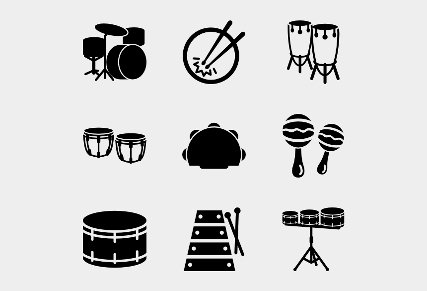 woodwind instruments clipart, Cartoons - Percussion - Icone Dashboard