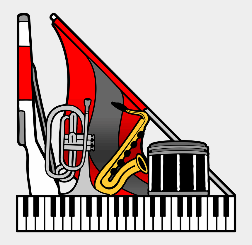 marching band tuba clipart, Cartoons - The Official Homepage Of The Parsippany High School - Musical Keyboard