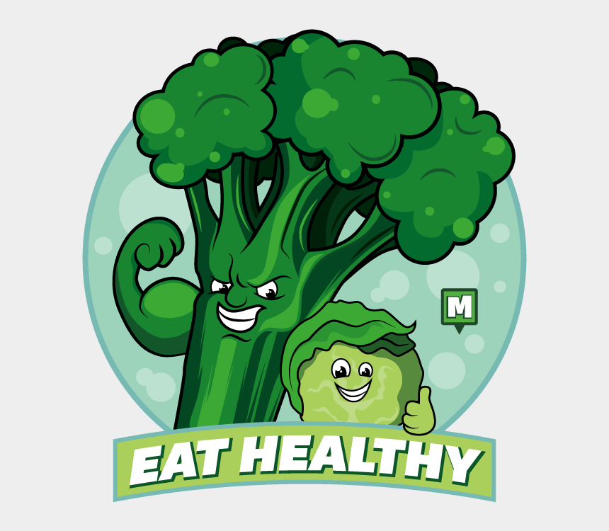 new year's resolution clipart, Cartoons - To Kick Things Off We're All Going To Try And Eat Better - Cartoon
