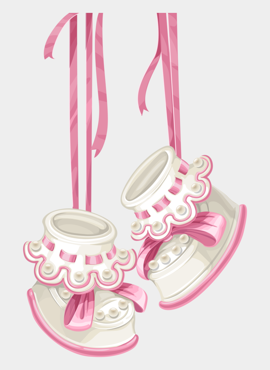 baby girl diaper clipart, Cartoons - Baby Girl Clipart Png - Pink Baby Booties Clipart