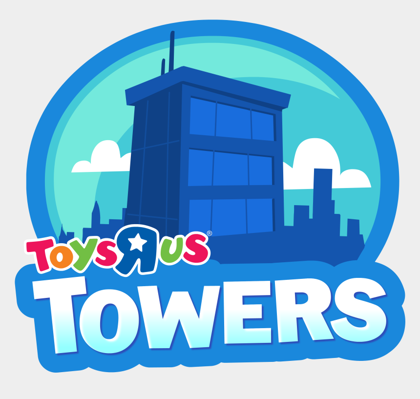 christmas gift card clipart, Cartoons - Toys R Us Towers Png Logo - Toys R Us Towes