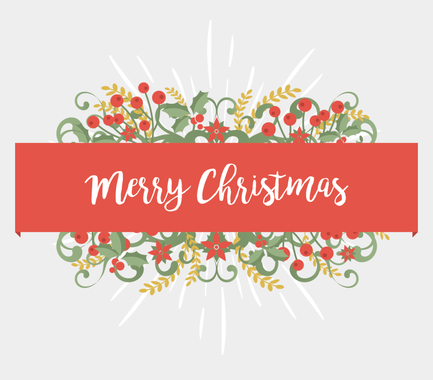merry christmas eve clipart, Cartoons - Merry Christmas Text Clipart Kiwi - Merry Christmas Card Floral