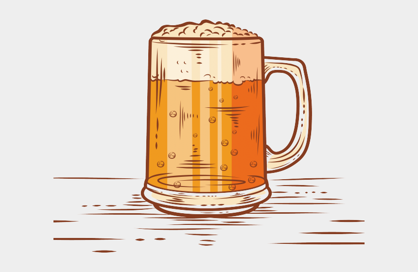 beer cup clipart, Cartoons - Drawn Beer Beer Cup - Animated Beer In Glass