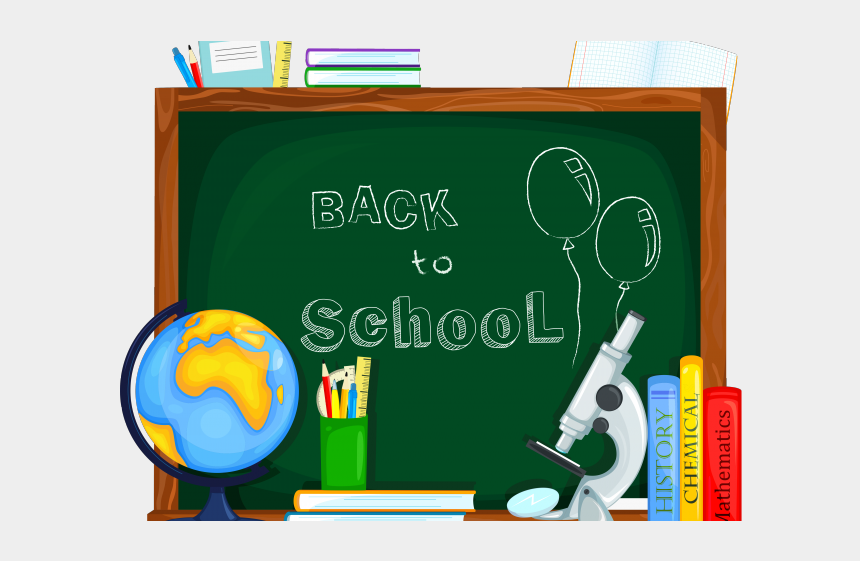 going to college clipart, Cartoons - Back To School Clipart Sign - Back To School Clipart