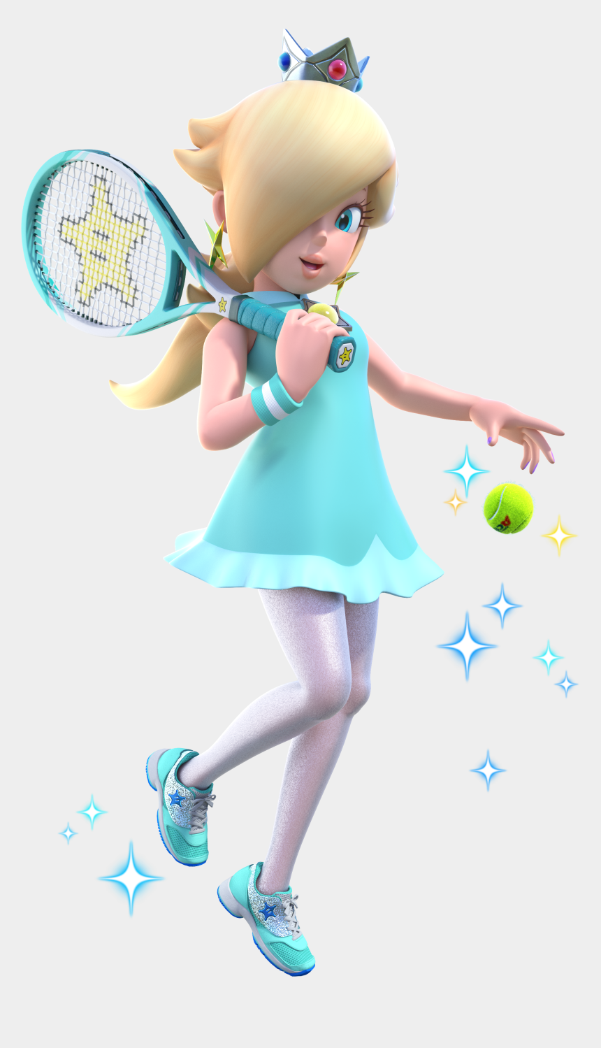 crafter clipart, Cartoons - Princess Peach Clipart Rosalina - Super Mario Tennis Aces Rosalina