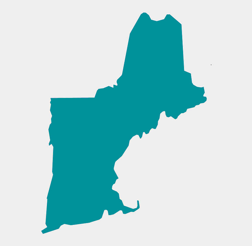 new england clipart, Cartoons - New England State Outline