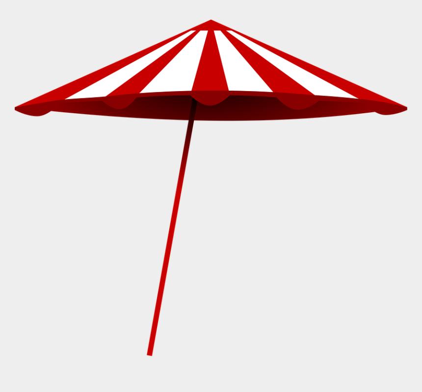 protective clipart, Cartoons - Beach Umbrella Sun Hot Protection Protective Red - Beach Umbrella Clip Art
