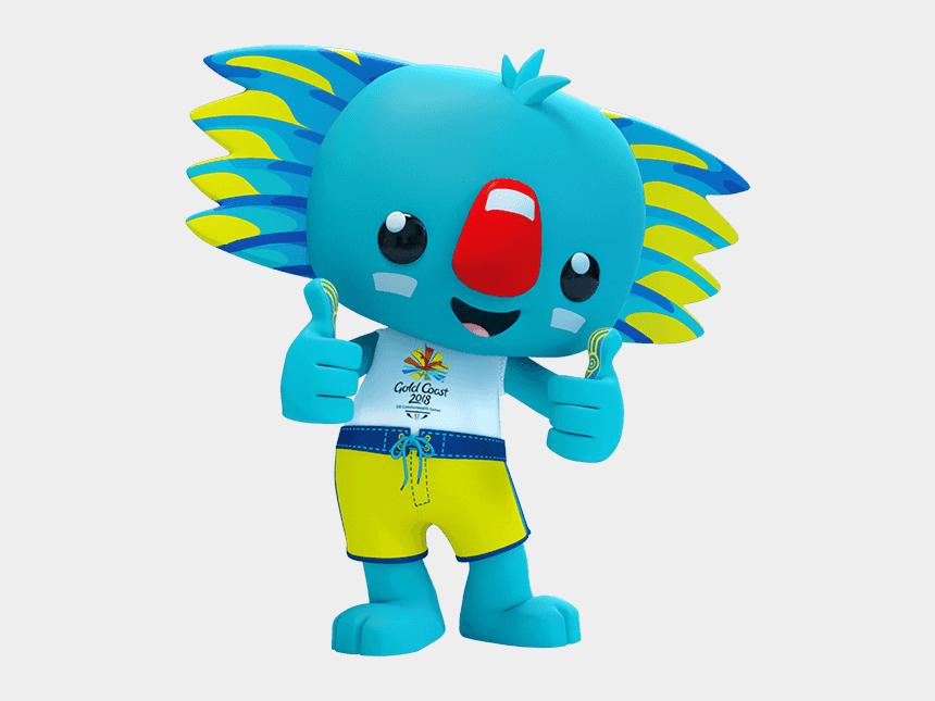 clipart of games, Cartoons - Medal Clipart Commonwealth Games - Borobi Commonwealth Games 2018