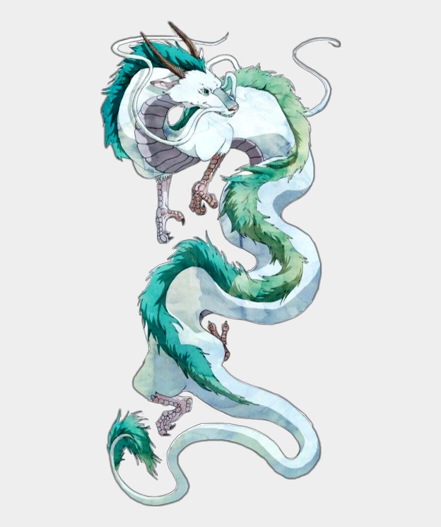 Spirited Away Haku Dragon Cliparts Cartoons Jing Fm