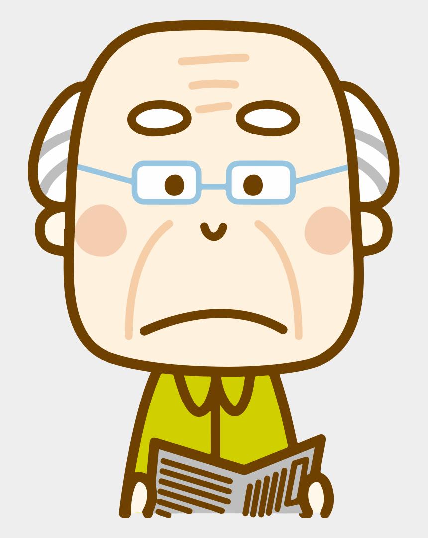 grumpy old men clipart, Cartoons - Grumpy Old Man - Happy Old Man Clipart