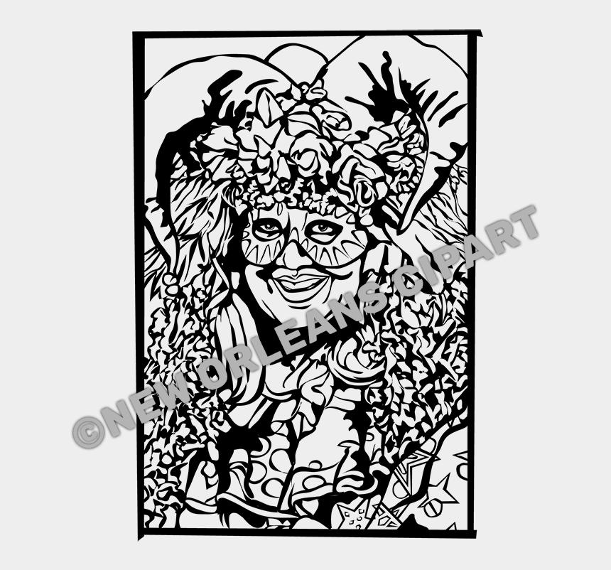 tuba clipart black and white, Cartoons - Jester Clip Art - Cartoon