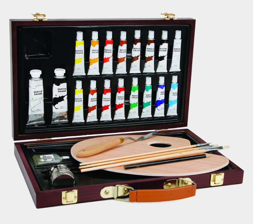 paint supplies clipart, Cartoons - Art Painting Supplies Beautiful Acrylic Paint Gift - Art Studio Oil Paint