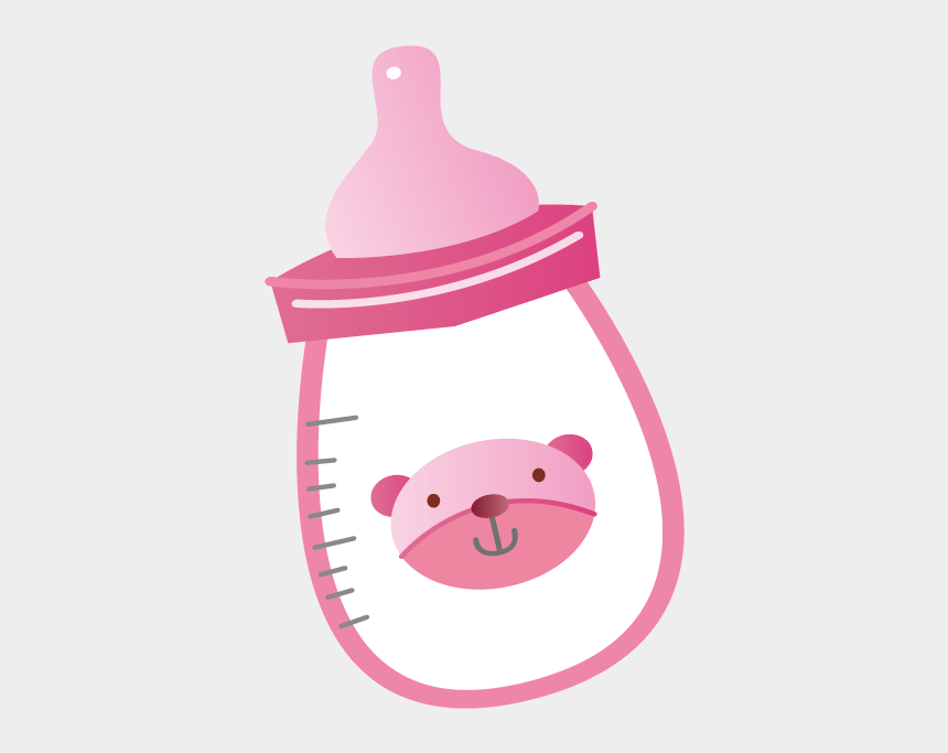 pink baby bottle clipart, Cartoons - Http - //daniellemoraesfalcao - Minus - Com/mxh9oz9qabhtk - Cartoon Baby Girl Bottle