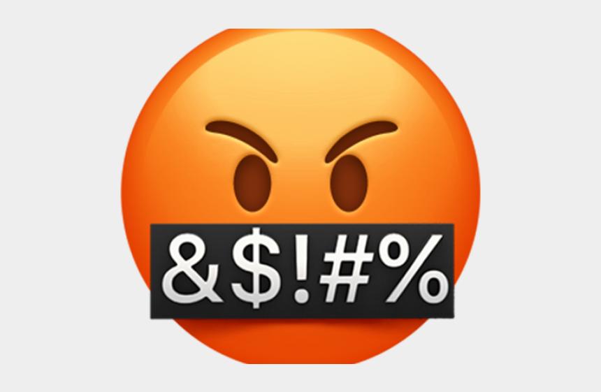 emoji clipart transparent, Cartoons - Angry Emoji Clipart Transparent Background - Transparent Background Angry Emoji