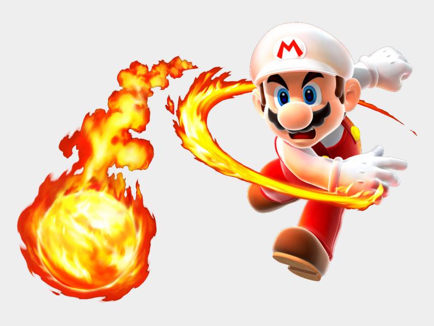 idiom clipart, Cartoons - Mario Bros Clipart One Star - Fire Mario Super Mario Galaxy