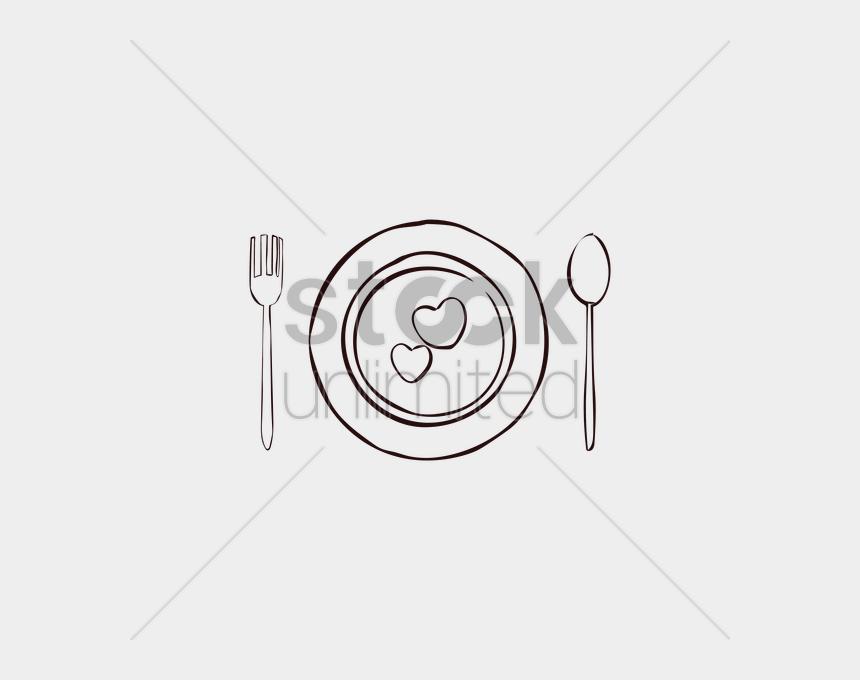 dinner table setting clipart, Cartoons - Cutlery Clipart Table Setting Table Setting Clip Art - Line Art