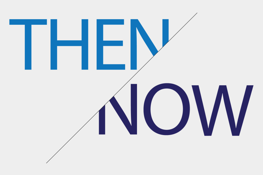 then and now clipart, Cartoons - Then/now Brenna Dougherty Gd - Graphic Design