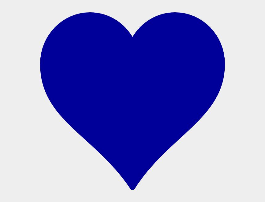 watercolor heart clipart, Cartoons - Blue Heart Clip Art At Clker - Dark Blue Heart Png