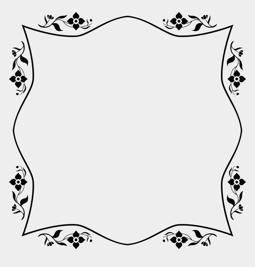 clipart decorative borders, Cartoons - Decorative Borders Picture Frames And Ornament - Vintage Frame Png