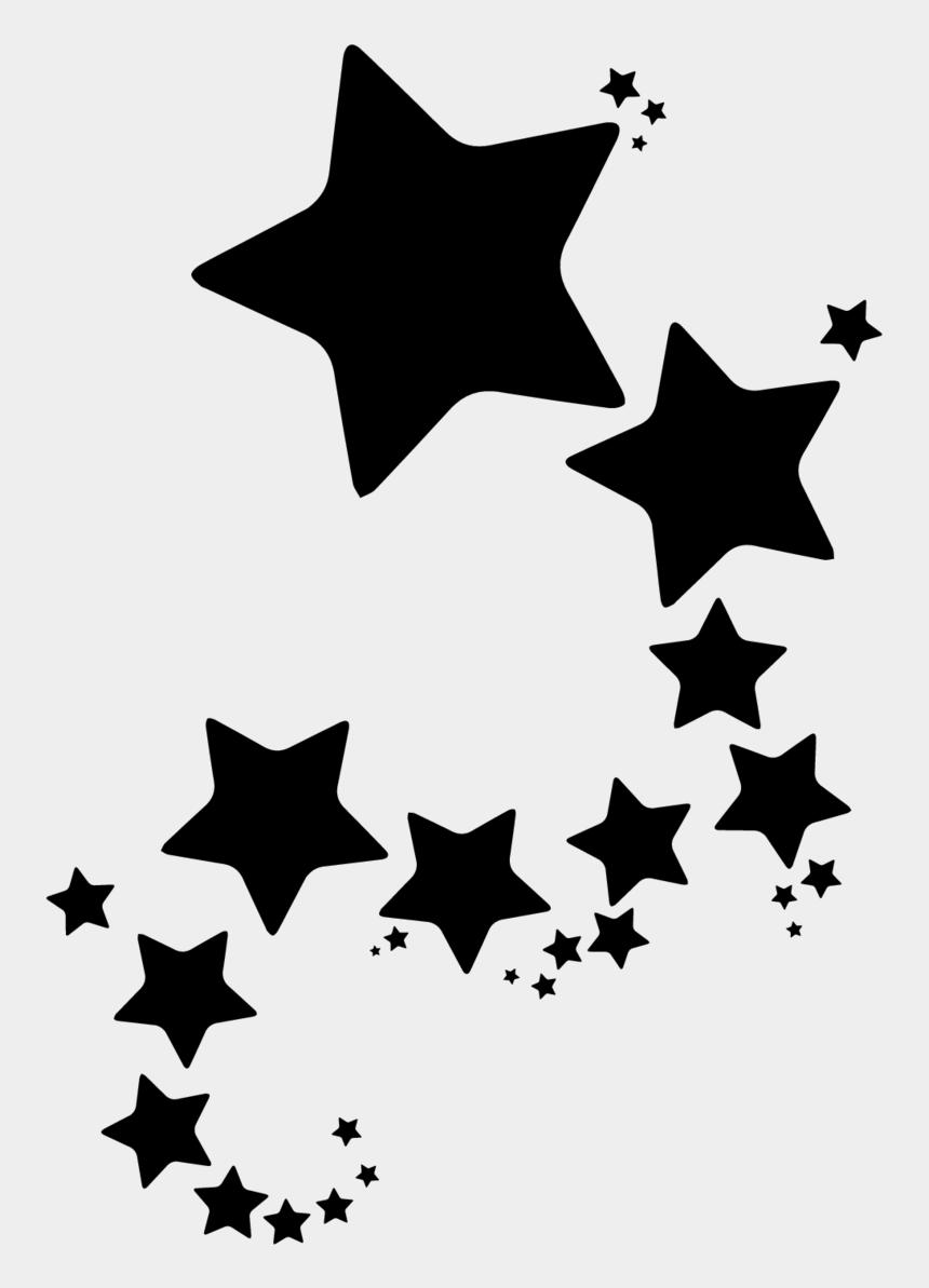 clipart of stars shapes, Cartoons - Group Of Stars Sticker - Clip Art Yellow Star Border