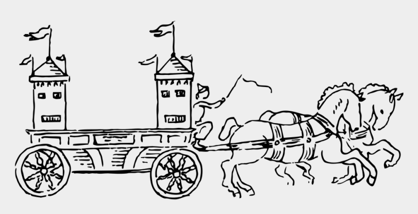 horse and carriage clipart free, Cartoons - Horse Carriage Princess King Queen Royalty - Draw Rath With Horses