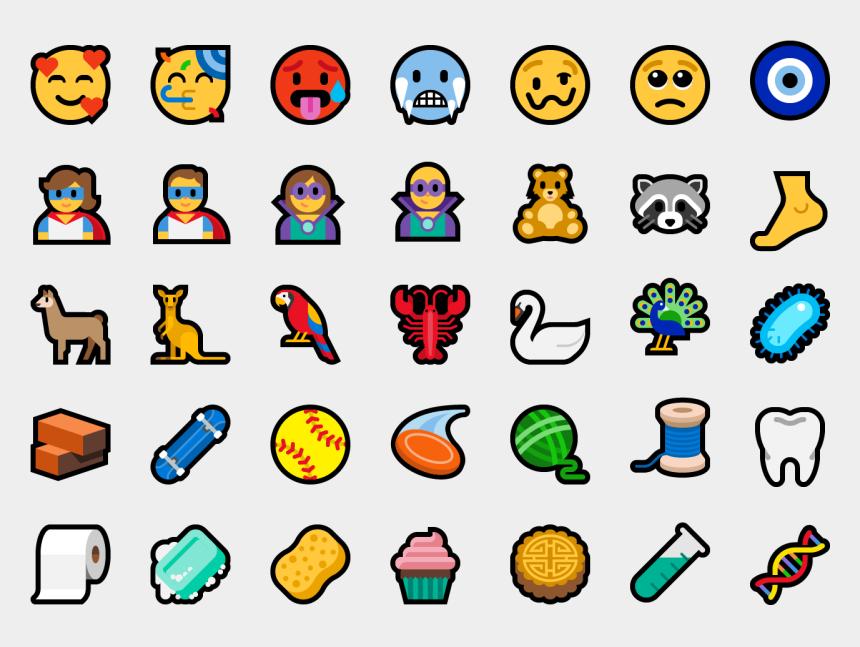 10 years clipart, Cartoons - 157 New Emoji With Unicode 11 In Windows - Windows 10 October 2018 Update Emoji