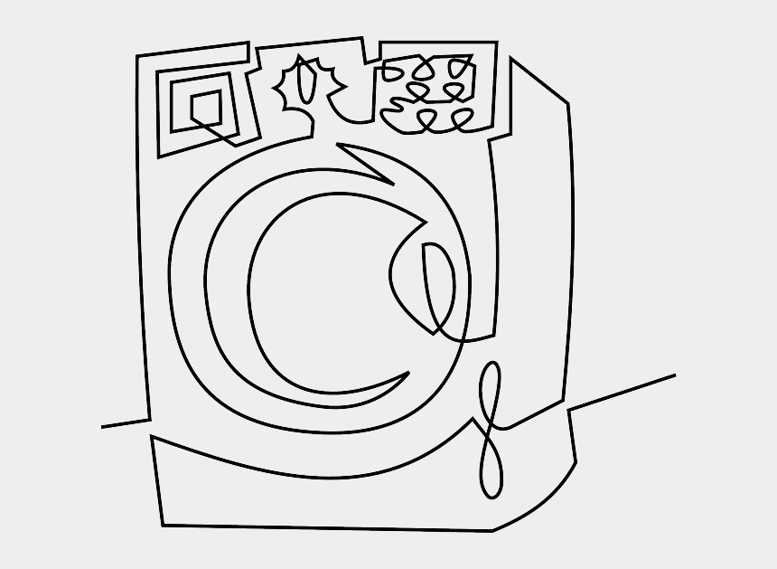 wash hands clipart black and white, Cartoons - Wash Drawing Clip Art - Washing Machine Drawing Png