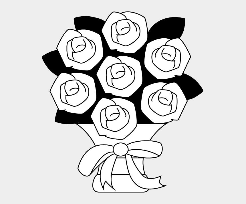 floral arrangement clipart, Cartoons - Clipart Info - Flowers Arrangements Clipart Black And White