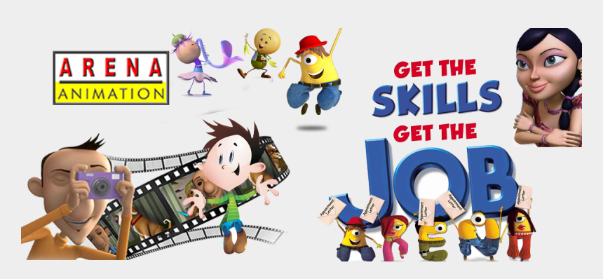 student doing work clipart, Cartoons - Why Do People Love To Work In Animation - Arena Animation