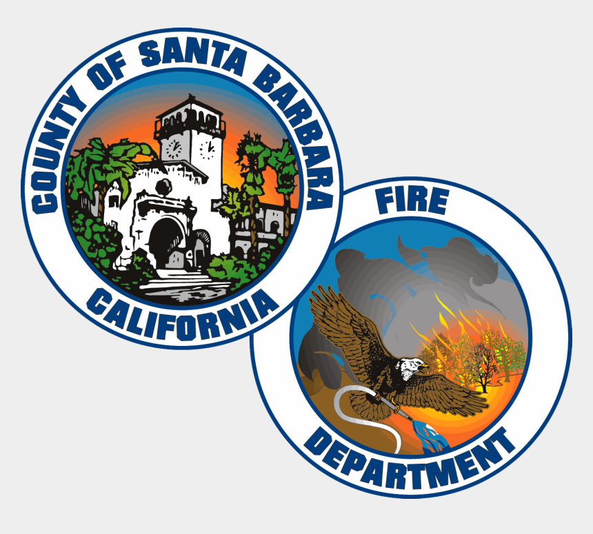 fire department logo clipart, Cartoons - Santa Barbara County Fire Department Logo