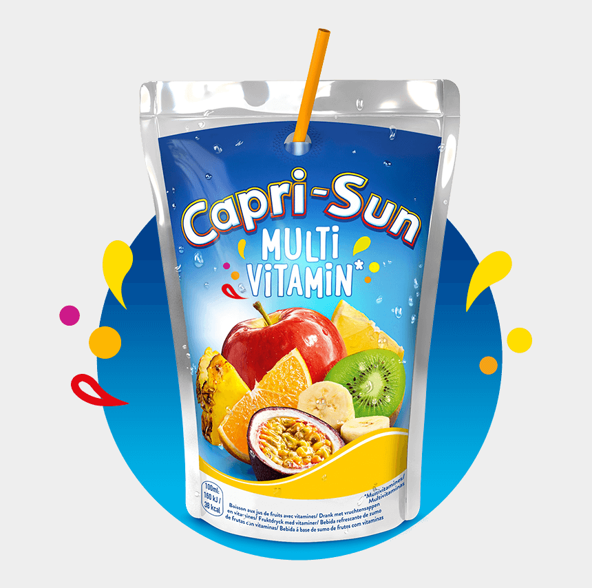 juice pouch clipart, Cartoons - In Fact, Our 200ml Pouch Weighs Just A Third Of A Pet - Capri Sonne Fairy Drink