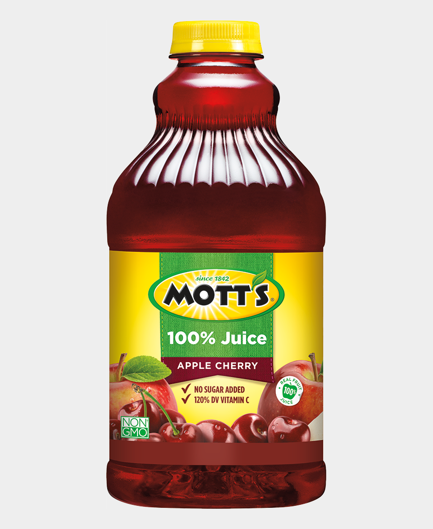 juice pouch clipart, Cartoons - Mott's® 100% Apple Cherry Juice - Motts Apple Juice