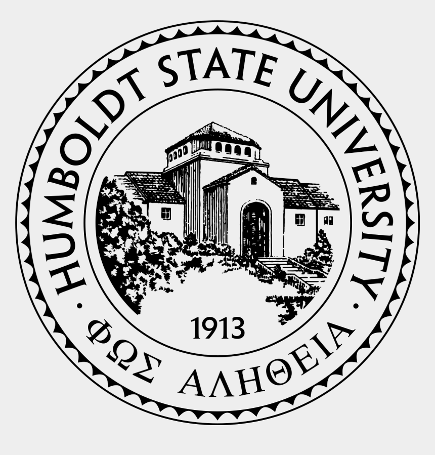 confused college student clipart, Cartoons - Humboldt State University Seal