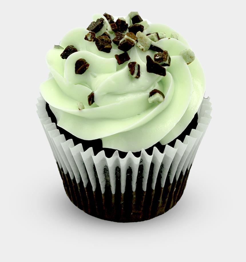 chocolate cupcakes clipart, Cartoons - Chocolate Mint - Cupcake - Cupcake
