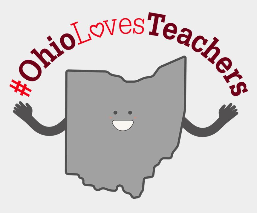 we love our teachers clipart, Cartoons - Ohio Loves Teachers - Noor Ul Quran Academy
