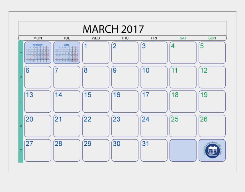 march 2017 clipart, Cartoons - March 2017 Calendar With Holidays Printable 103278 - Printable Calendars February 2017