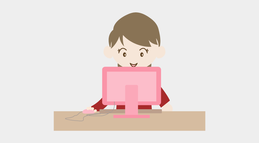 person using computer clipart, Cartoons - View All Images-1 - Cartoon