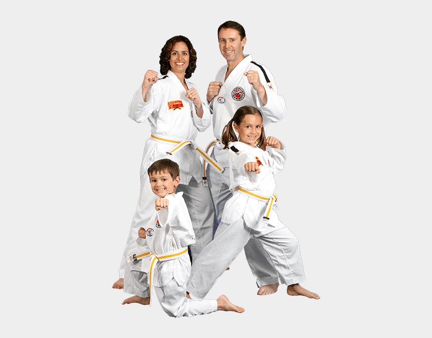 family & friends clipart, Cartoons - Robinson's Taekwondo Family Classes - Family Day Taekwondo