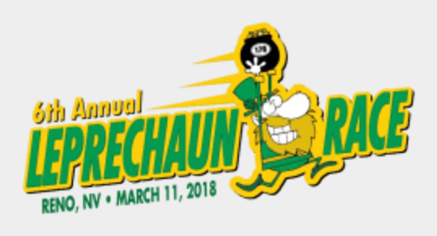 gobble til you wobble clipart, Cartoons - Leprechaun Race Reno