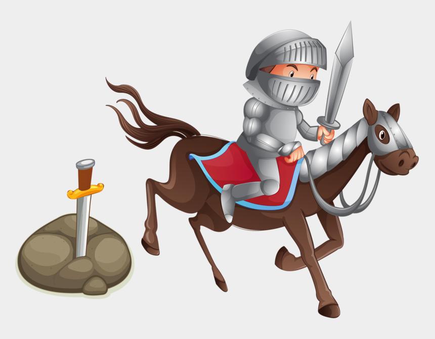 knight horse clipart, Cartoons - Knight Photography Illustration Cartoon Transprent - Caballero En Caballo Animado Png