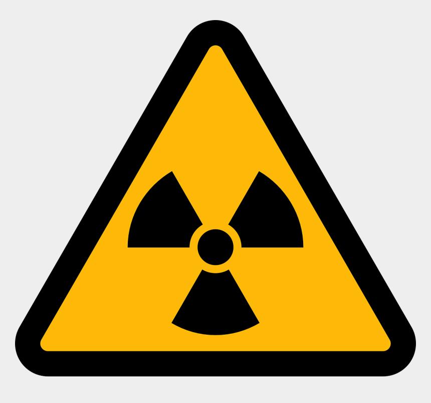 nuclear symbol clipart, Cartoons - Hazard Symbol Radioactive Decay Radiation Sign - Radioactive Symbol