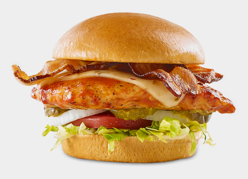 leftover food clipart, Cartoons - Bbq Chicken Sandwich Bww