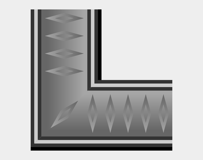 free border clipart download, Cartoons - This Free Clip Arts Design Of Rpg Map Graphite Border - Gray Picture Frame Png