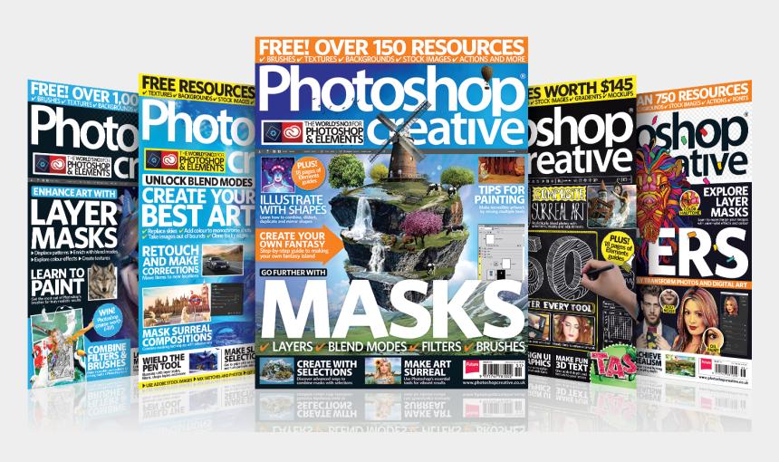 magazine clipart, Cartoons - Photoshop Graphic Poster Creative Subscribe Magazine - Photoshop Creative Magazine