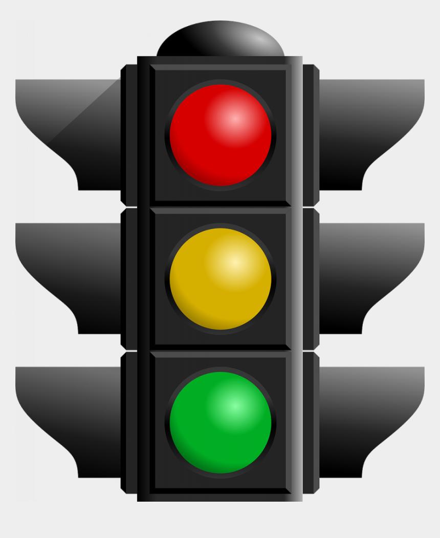 smart clipart, Cartoons - Light Vehicle Traffic Smart Sign Free Clipart Hq - Red Traffic Light