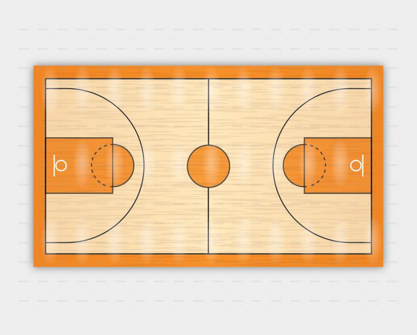 court clipart, Cartoons - Outdoor Basketball Court Png